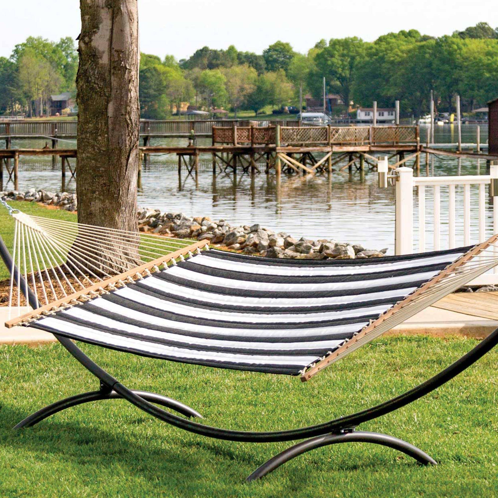 Cabana Classic Large Quilted Hammock Dfohome
