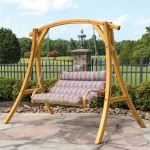 Deluxe Cushioned Double Swing - Gateway Blush