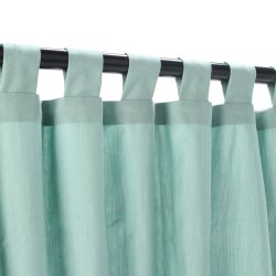 Sunbrella Spectrum Mist Outdoor Curtain with Tabs