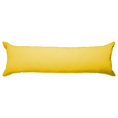 52 Inch Long Hammock Pillow with Polyester Filling - Sunflower
