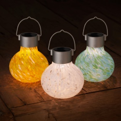 Solar Glass Tea Lantern