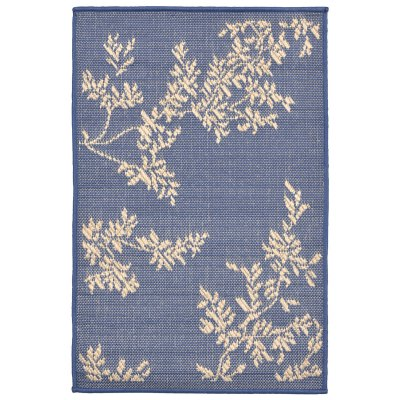 Terrace Vine Marine Outdoor Rug