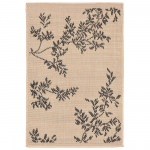Terrace Vine Neutral Outdoor Rug
