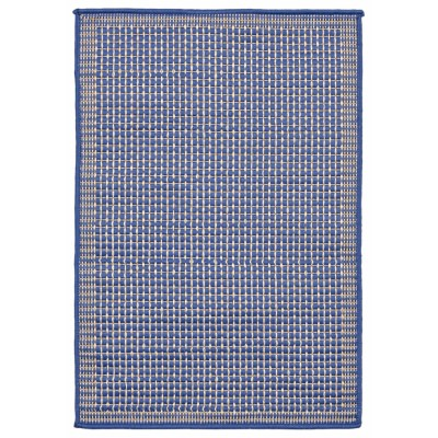 Terrace Texture Marine Outdoor Rug