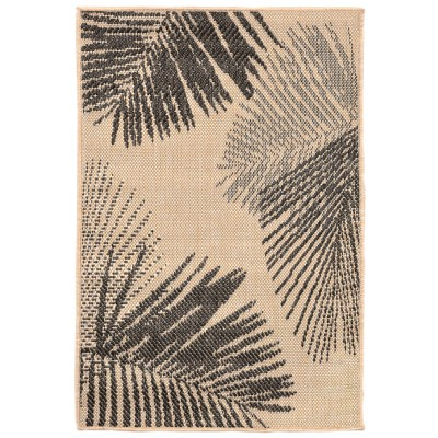 Terrace Palm Neutral Outdoor Rug