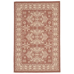 Terrace Kilm Terracotta Outdoor Rug