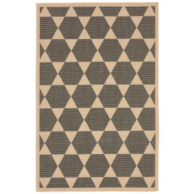 Terrace Agra Tile Charcoal Outdoor Rug
