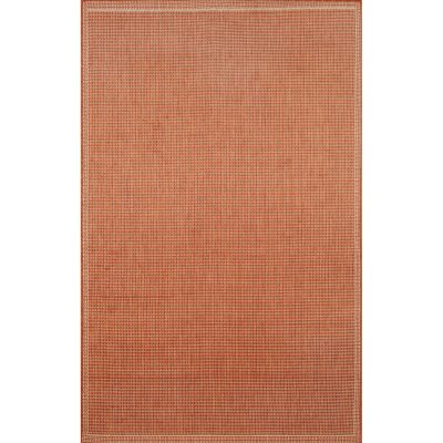 Terrace Texture Terracotta/Ivory Outdoor Rug