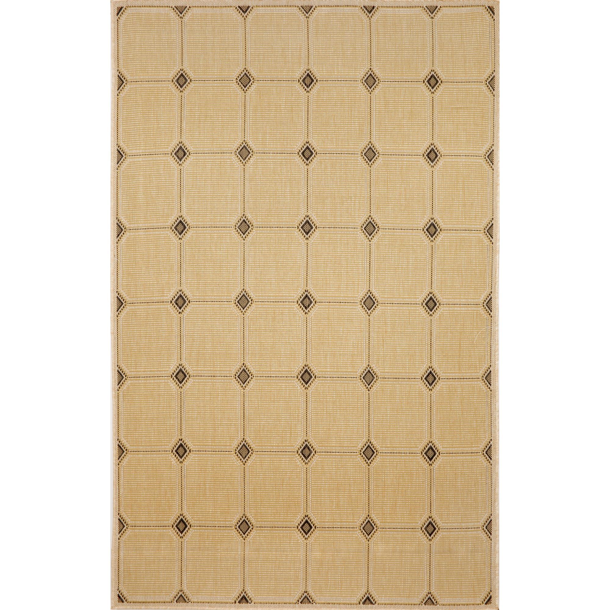 Shop terrace texture yellow outdoor rug 7 39 10 x 9 39 10 for Terrace tiles texture