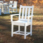 Traditional Garden Dining Arm Chair