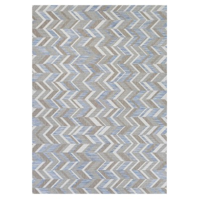 Tides Shelter Island Rug Blue/Grey