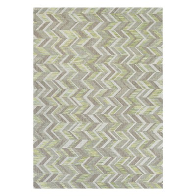 Tides Shelter Island Rug Lemon Grass/Grey
