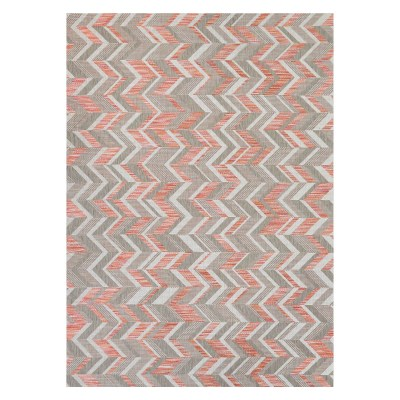 Tides Shelter Island Rug Sienna Red/Grey