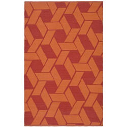 Thom Filicia Red Outdoor Rug