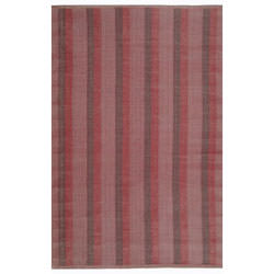 Thom Filicia Deep Red Outdoor Rug