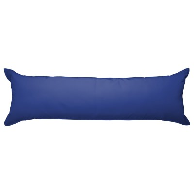 52 Inch Long Hammock Pillow with Polyester Filling - True Blue