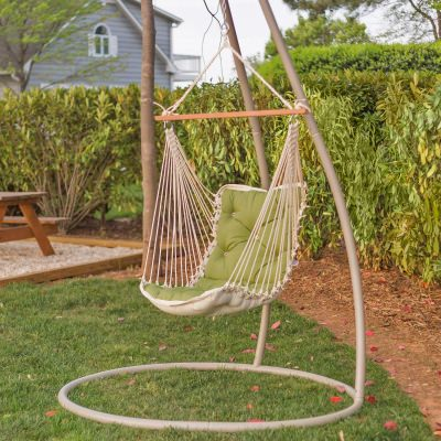 Tufted Single Swing Made with Sunbrella - Spectrum Cilantro