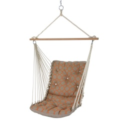 Tufted Single Swing Made with Sunbrella - Accord Koi