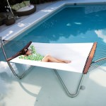 Air Lounge White Hammock