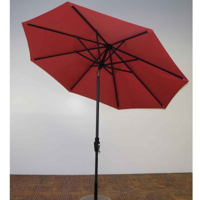 9 Ft. Premium Market Umbrella in the Color Paprika-Outdua Canopy Fabric