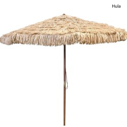 9ft Hula Umbrella in Tan