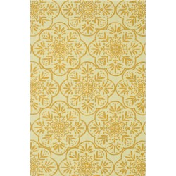 Venice Beach Ivory / Buttercup Outdoor Rug