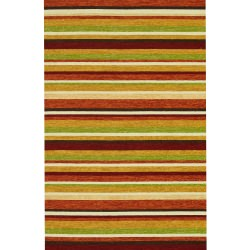 Venice Beach Sunset Outdoor Rug