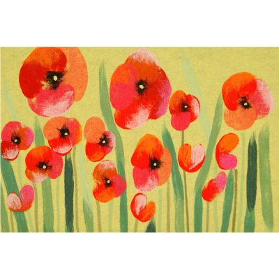 Visions IV Poppies Red 1' 8
