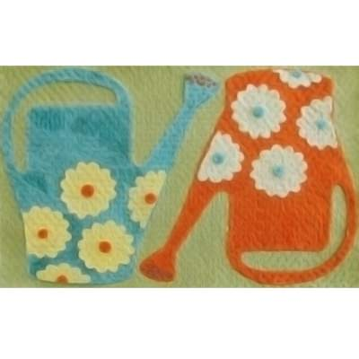 Watering Cans Outdoor Mat