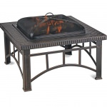 Copper Wood Burning Outdoor Fire Pit