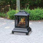 Steel Black Outdoor Firehouse