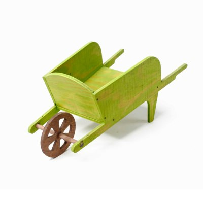 SGC 35 in wide Wheelbarrow Planter in Green