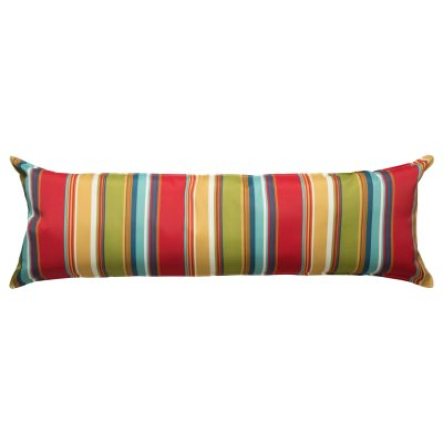 52 Inch Long Hammock Pillow with Polyester Filling - Westport Garden
