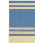 Five Seasons South Padre Blue/Cream Outdoor Rug