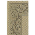 Five Seasons Tuscana Cream/Brown Outdoor Rug (1ft 11in x 3ft 7in)