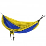 Double Travel Hammock - Royal/Yellow