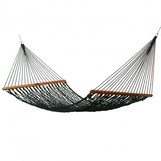 Single Original Duracord Rope Hammock - Green