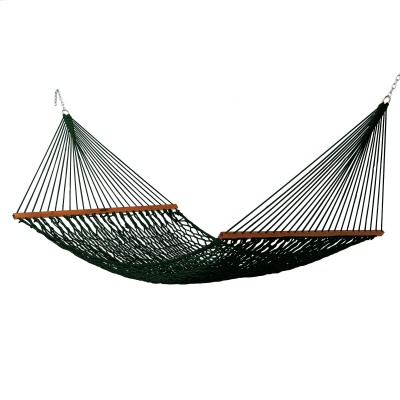 Deluxe Original DuraCord Rope Hammock - Green