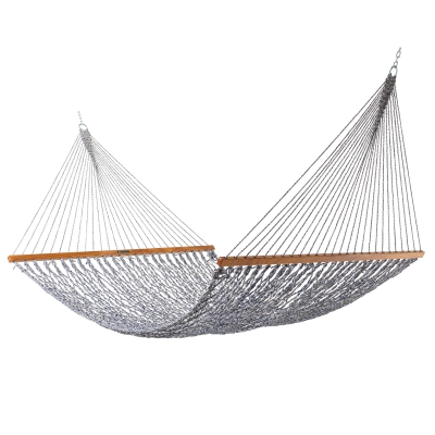 Presidential Original DuraCord Rope Hammock - Navy Oatmeal Heirloom Tweed