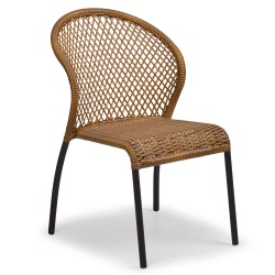 Resin Wicker Bistro Chair