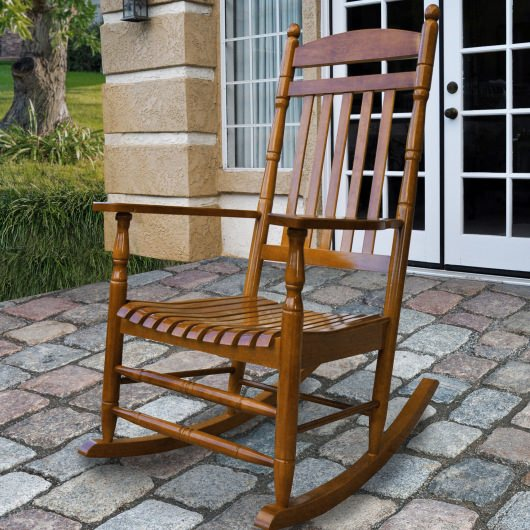 Rhode Island Hardwood Porch Rocker