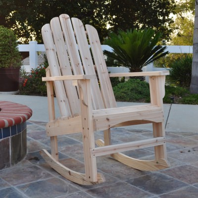 Marina Cedar Porch Rocker