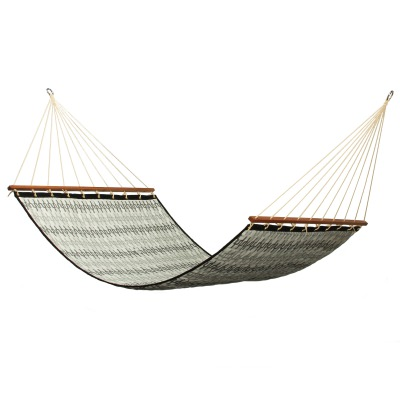 Large 2 Person Soft Polyester Quilted Hammock - Granada Mist