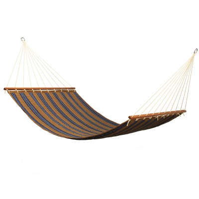 Large 2 Person Sunbrella Quilted Hammock - Stark Rivera Stripe
