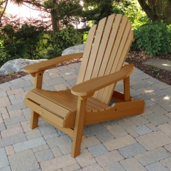 Hamilton Folding and Reclining Adirondack Chair