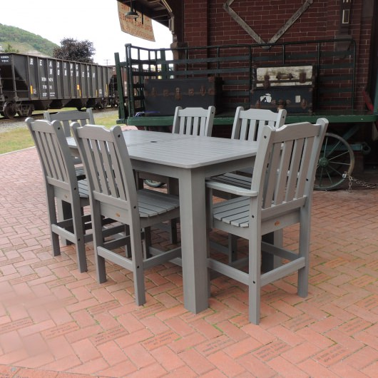Lehigh 7pc Rectangular Counter Dining Set