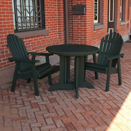 Hamilton 3pc Round Dining Set
