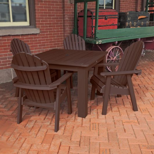 Hamilton 5pc Square Dining Set