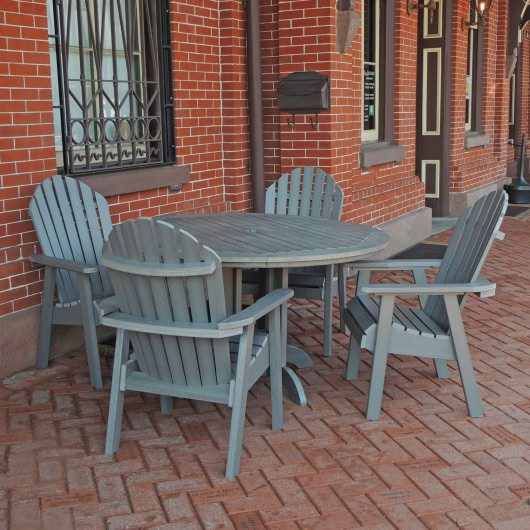 Hamilton 5pc Round Dining Set