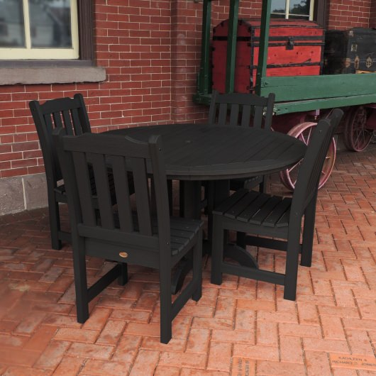 Lehigh 5pc Round Dining Set
